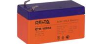 Необслуживаемые, герметичные свинцово-кислотные аккумуляторы Delta DTM